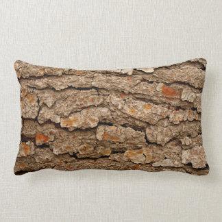 Pine Bark Texture Lumbar Cushion