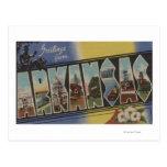 Pine Bluff, Arkansas - Large Letter Scenes Postcards