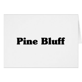 Pine Bluff  Classic t shirts Greeting Cards