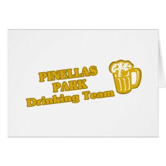 Pine Bluff Drinking Team tee shirts Greeting Card