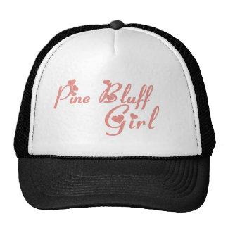 Pine Bluff Girl tee shirts Mesh Hats