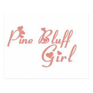 Pine Bluff Girl tee shirts Post Cards
