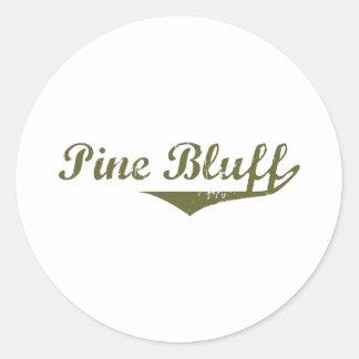 Pine Bluff  Revolution t shirts Classic Round Sticker