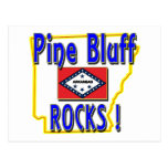 Pine Bluff Rocks ! (blue) Post Card
