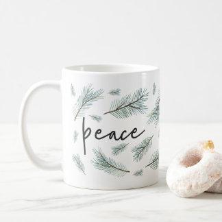 Pine Boughs | Holiday Coffee Mug