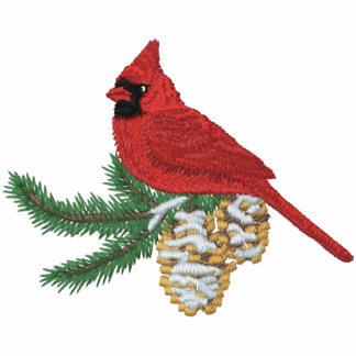 Pine Cardinal Hoodies