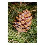 Pine cone card 2