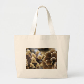 pine cone large tote bag