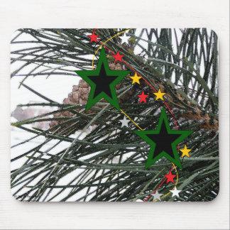 Pine Cone n' Stars Mousepad