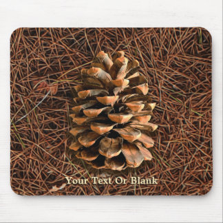 Pine Cone On Fallen Needles Mouse Pad