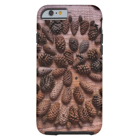 Pine Cones mandala photo iPhone 6/6s, Tough Tough