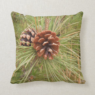Pine Cones on Tree Design Throw Cushions