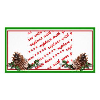 Pine Cones Photo Greeting Card