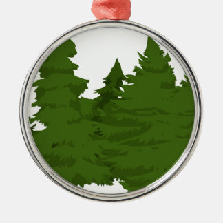 Pine Forest Christmas Ornament