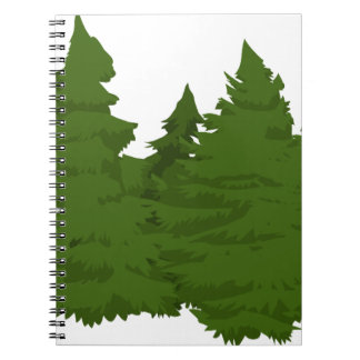 Pine Forest Notebook