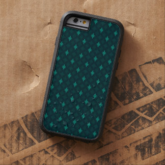 Pine Green / Teal - Custom iPhone 6 Case Tough Xtreme iPhone 6 Case