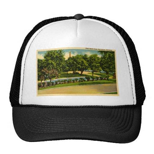 Pine Grove Park, Port Huron, Michigan Mesh Hats