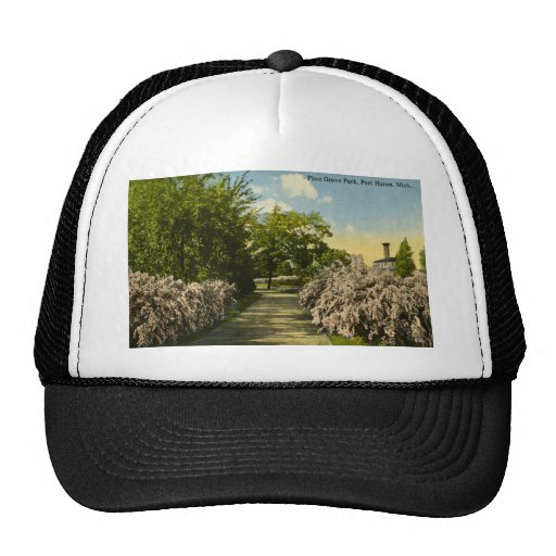 Pine Grove Park Port Huron Michigan Vintage Hats