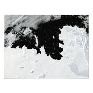 Pine Island Bay in West Antarctica Photograph