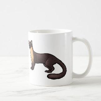 Pine Marten Basic White Mug