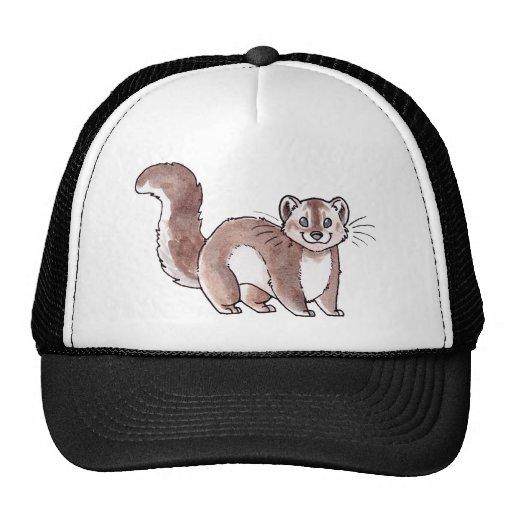 Pine Marten Trucker Hats