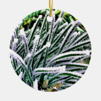 pine needles christmas ornament