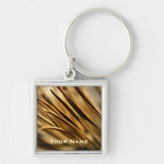 Pine Needles custom keychain