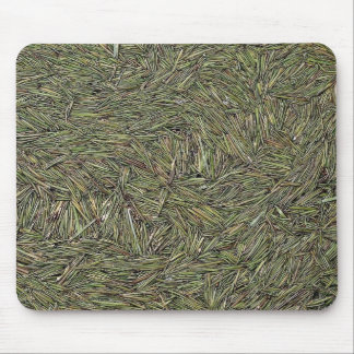 Pine needles floating on water mouse pad