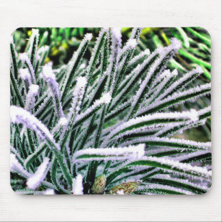 pine needles mouse pad