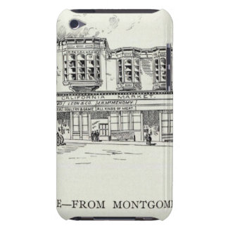 Pine North side Montgomery and Kearny Barely There iPod Cover