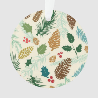 Pine Pattern Decorative Ornament
