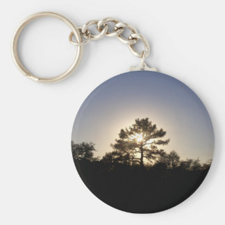 Pine Sunset Key Ring