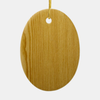 Pine Texture Christmas Ornament