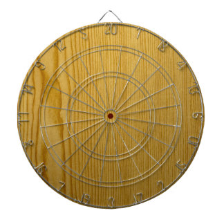 Pine Texture Dart Board