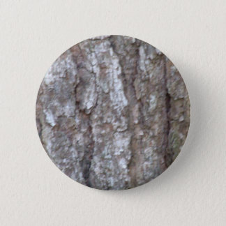Pine Tree Bark Camo Natural Wood Camouflage Nature 6 Cm Round Badge