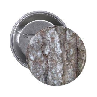 Pine Tree Bark Camo Natural Wood Camouflage Nature 6 Cm Round Badge
