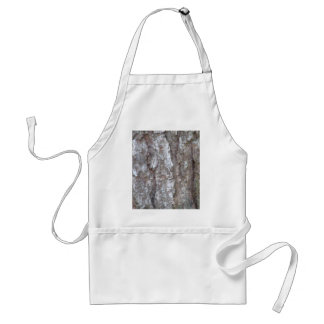 Pine Tree Bark Camo Natural Wood Camouflage Nature Aprons