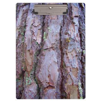 Pine Tree Bark Clipboard
