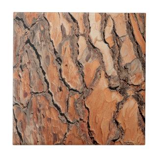 Pine Tree Bark Texture Tile