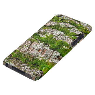 Pine Tree Bark With Moss Barely There iPod Case