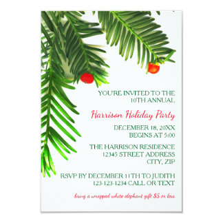 christmas tree rsvp cards christmas tree rsvp invitations response card templates zazzle. Black Bedroom Furniture Sets. Home Design Ideas