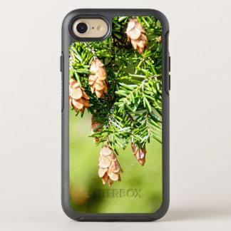 Pine Tree & Cones OtterBox Symmetry iPhone 8/7 Case
