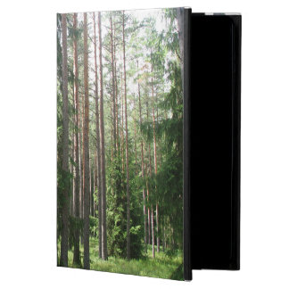 Pine tree forest case for iPad air