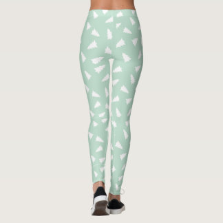 Pine Tree Leggings - Mint