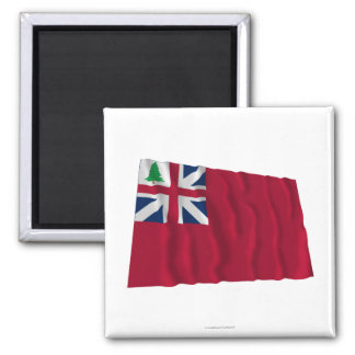 Pine Tree Red Ensign Magnet