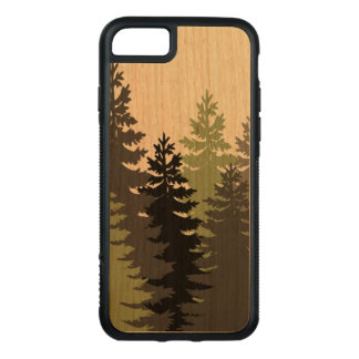 Pine Trees Carved iPhone 8/7 Case