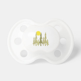 Pine Trees BooginHead Pacifier