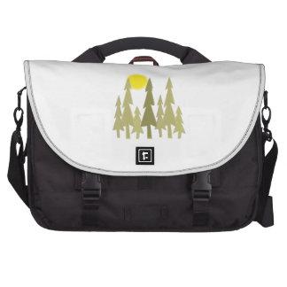 Pine Trees Laptop Bags