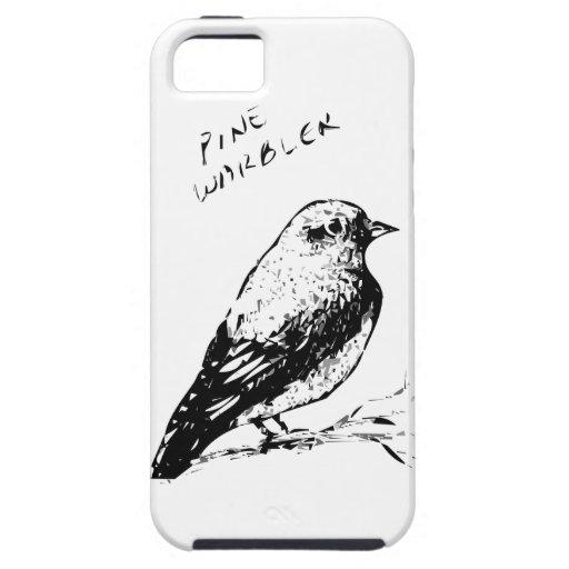 Pine Warbler Bird Sketch Case For iPhone 5/5S