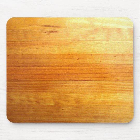 Pine Wood Effect Mouse Mat